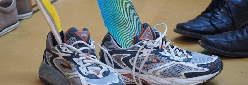מדרסים בתוך נעליים